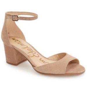 EUC Sam Edelman Susie d'orsay neutral sandal 7.5